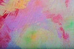 Fundo abstrato colorido da parede pintada Imagens de Stock Royalty Free