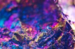 Fundo abstrato colorido do mineral natural Macro Foto de Stock