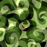 Fundo abstrato colorido do papel de parede verde Ilustração Royalty Free