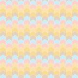 Fundo abstrato colorido do teste padrão da seta Imagem de Stock