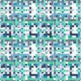 Fundo abstrato colorido do teste padrão geométrico do papel de parede Ilustração Royalty Free