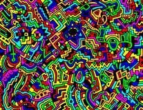 Fundo abstrato colorido do vetor Fotografia de Stock