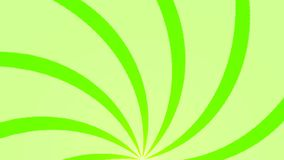 Fundo abstrato com animação de feixes do sol Fundo radial retro rendição 3d ilustração stock