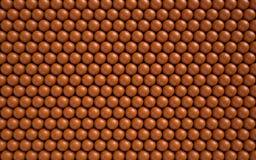 Fundo abstrato com bolas lustrosas Fotos de Stock