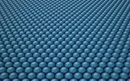 Fundo abstrato com bolas lustrosas Imagem de Stock Royalty Free