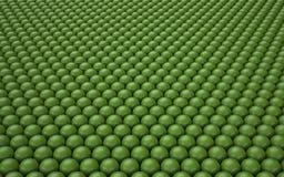 Fundo abstrato com bolas lustrosas Imagens de Stock