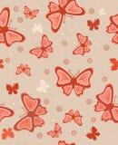 Fundo abstrato com borboletas Foto de Stock