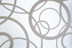 Fundo abstrato com círculos imagens de stock royalty free