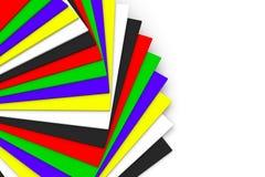 Fundo abstrato com cor quadrada Fotos de Stock Royalty Free