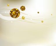 Fundo abstrato com diamantes Imagens de Stock Royalty Free