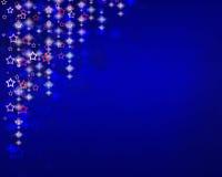 Fundo abstrato com estrelas brilhantes Foto de Stock