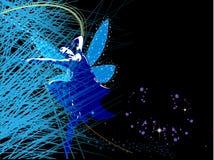 Fundo abstrato com fairy feericamente Imagem de Stock