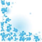 Fundo abstrato com folhas. Imagens de Stock