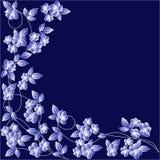 Fundo abstrato com folhas. Fotografia de Stock Royalty Free