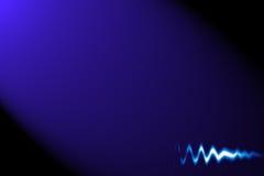 Fundo abstrato com forma de onda do áudio/pulsação do coração Imagens de Stock Royalty Free