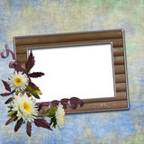 Fundo abstrato com frame Imagem de Stock Royalty Free