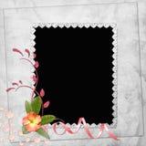 Fundo abstrato com frame Foto de Stock Royalty Free