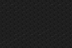 Fundo abstrato com hexágonos Imagem de Stock