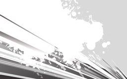 Fundo abstrato com linhas Ilustração do vetor Imagens de Stock