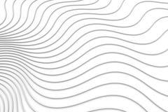 Fundo abstrato com linhas onda Imagem de Stock