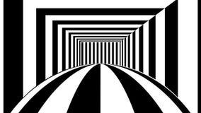 Fundo abstrato com listras preto e branco ilustração stock