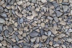 Fundo abstrato com o mar grande e pequeno redondo cinzento seco reeble Imagens de Stock Royalty Free