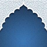 Fundo abstrato com ornamento tradicional ilustração royalty free