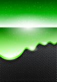 Fundo abstrato com pintura verde ilustração royalty free