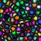 Fundo abstrato com pontos coloridos brilhantes Imagem de Stock