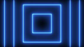Fundo abstrato com quadrados de néon ilustração stock