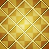 Fundo abstrato com quadrados dourados Foto de Stock
