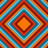Fundo abstrato com retângulos mandala quadriculação 8 Foto de Stock