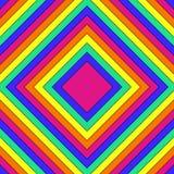 Fundo abstrato com retângulos mandala quadriculação 9 Fotografia de Stock Royalty Free