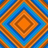 Fundo abstrato com retângulos mandala quadriculação 3 Imagens de Stock