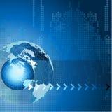 Fundo abstrato com terra imagem de stock royalty free