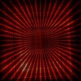Fundo abstrato com teste padrão das linhas vermelhas Imagem de Stock