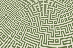 Fundo abstrato com teste padrão do labirinto Ilustração Royalty Free