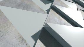 Fundo abstrato com triângulos realísticos Imagem de Stock