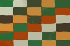 Fundo abstrato com um teste padrão retangular colorido imagem de stock