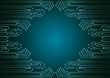 Fundo abstrato; Conceito da segurança do Cyber da tecnologia Fotos de Stock Royalty Free