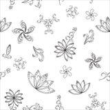 Fundo abstrato, contornos Imagens de Stock Royalty Free