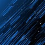 Fundo abstrato, cor azul do inclinação com linha da listra ilustração royalty free