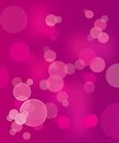 Fundo abstrato cor-de-rosa do vetor com bolha Ilustração Royalty Free