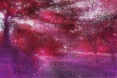 Fundo abstrato cor-de-rosa e roxo multicolorido de incandescência brilhante ilustração stock