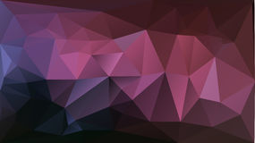 Fundo abstrato cor-de-rosa roxo do triângulo Imagem de Stock