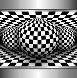 Fundo abstrato 3D Fotografia de Stock
