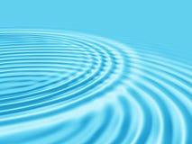 Fundo abstrato da água azul. Foto de Stock Royalty Free