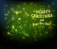 Fundo abstrato da árvore de Natal ilustração do vetor