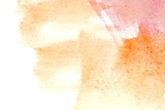 Fundo abstrato da aguarela Fotografia de Stock