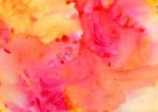 Fundo abstrato da aguarela Fundos pintados à mão da aquarela fotos de stock royalty free